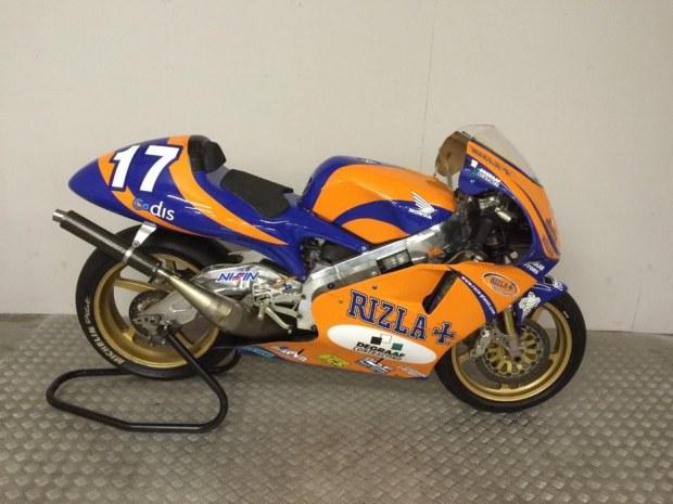 Honda NSR500V de GP se vinde cu 116.000 de euro pe eBay