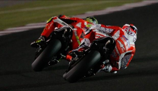 Prima zi de teste MotoGP in Qatar: prototipurile Ducati in plin avant