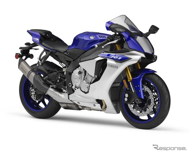 Toba alungita ii strica aspectul noii Yamaha R1 pentru piata japoneza