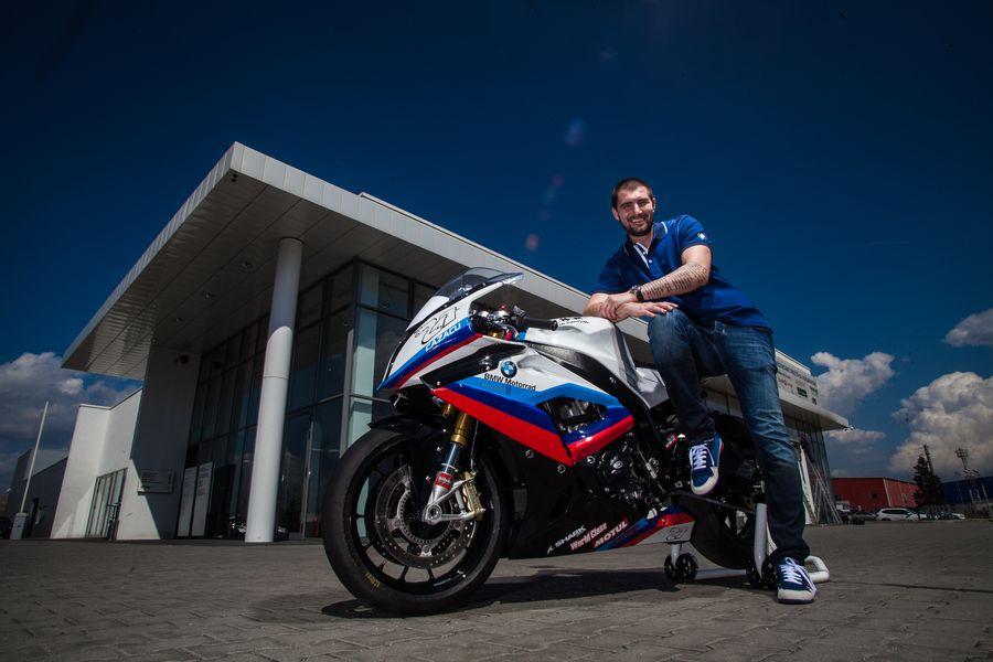 Parteneriat Cătălin Cazacu (campion RoSBK 2013, 2014) - BMW Motorrad (2)