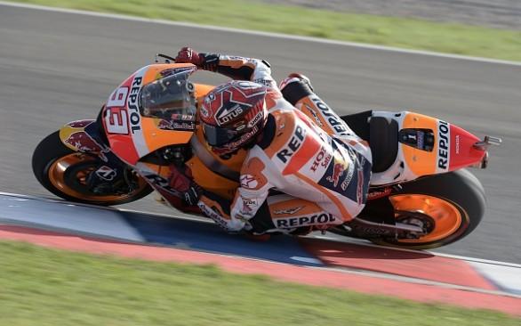 Inca un pole-position zdrobitor pentru Marquez in Argentina