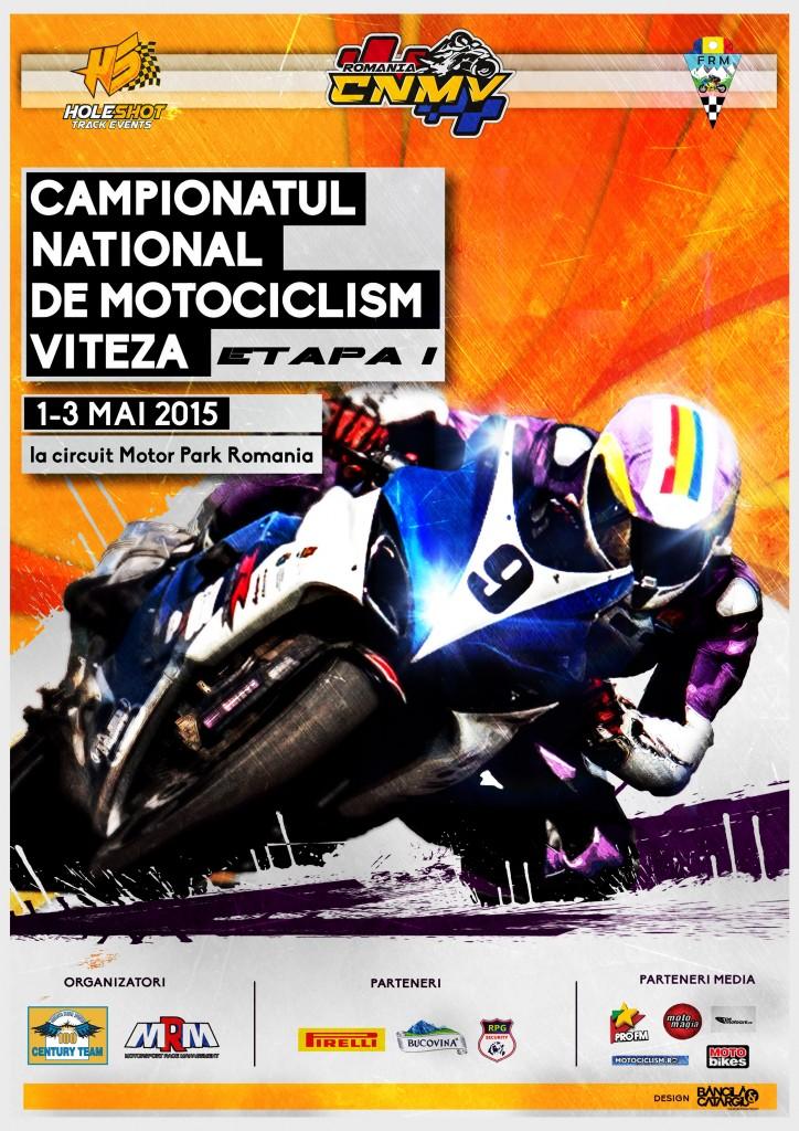 A inceput deja prima etapa de Campionat National de Motociclism Viteza pe circuit din Romania