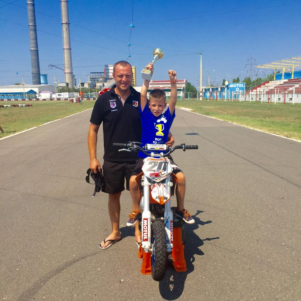 Patrick Pascotă, campion național la opt ani
