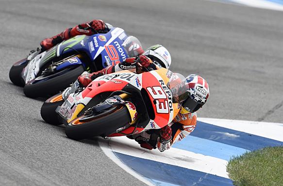 Marquez câștigă la Indianapolis