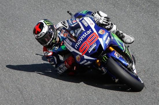 Lorenzo, cel mai rapid în prima zi la Brno