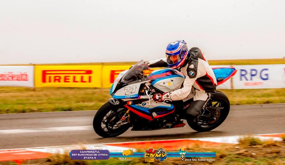 Cazacu și Pascotă, victorioși în ultima etapă a Campionatului Național de Motociclism Viteză