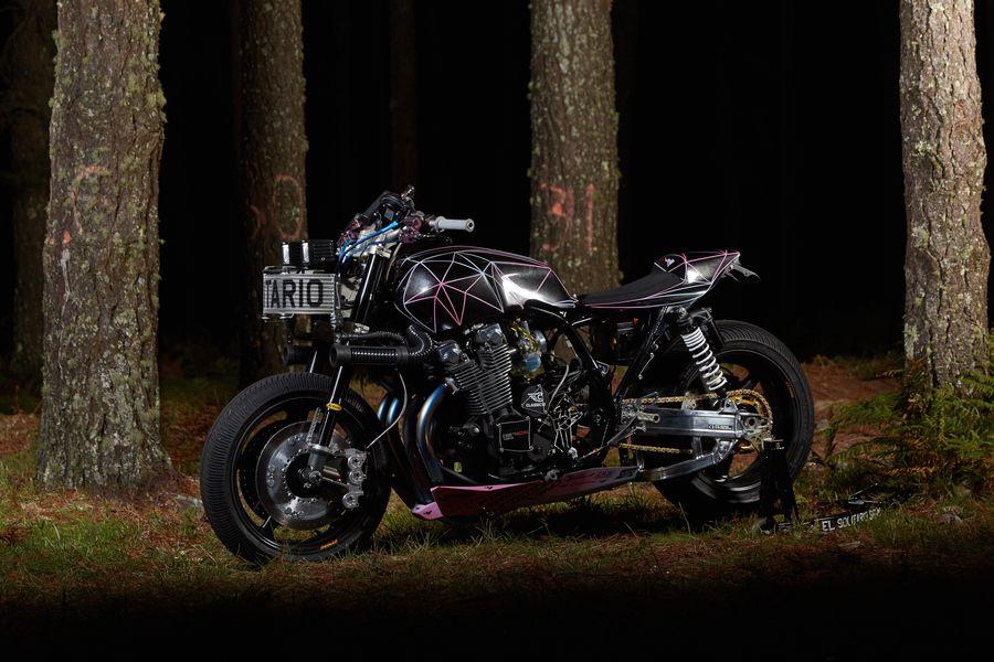 Yamaha XJR1300 transformată în bestie: Big Bad Wolf de la El Solitario