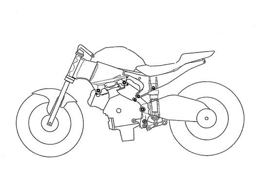 Honda pregătește un model Superbike cu motor V4?
