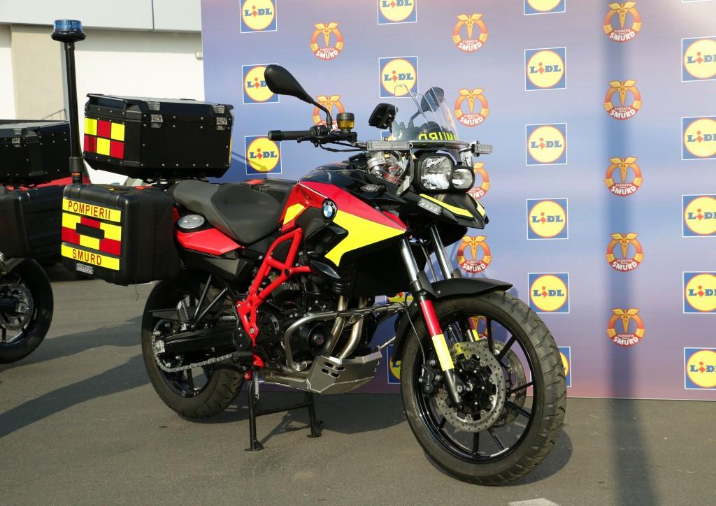 BMW Motorrad echipează SMURD cu cinci motociclete F 700 GS