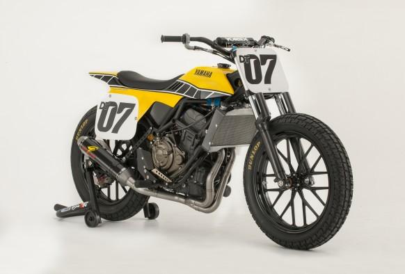 Yamaha USA prezintă conceptul DT-07, o interpretare în stil flat-track a lui MT-07