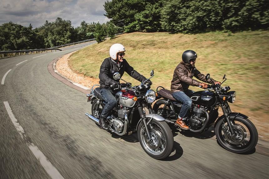 Noi modele Triumph: Street Twin, Bonneville T120, Thruxton și Thruxton R
