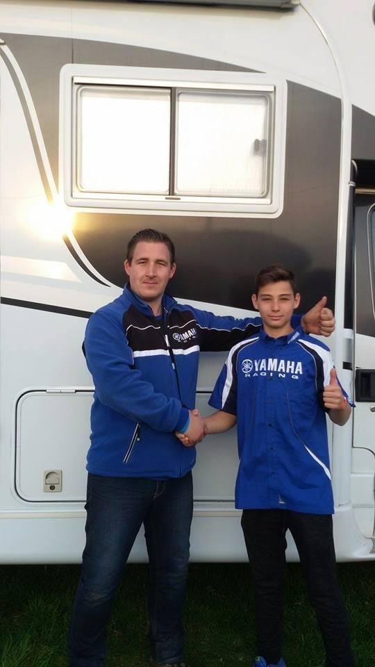 Robert Tompa va alerga pentru echipa belgiană Team Grizzly-Resa-Yamaha în Europeanul de Motocros
