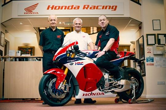 Honda a livrat primul exemplar de RC213V-S către primul client, în Marea Britanie