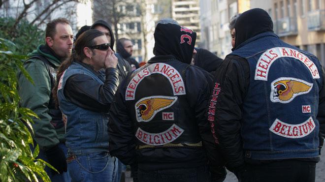 1.000 de motocicliști prezenți la înmormântarea unui membru Hell's Angels [VIDEO]