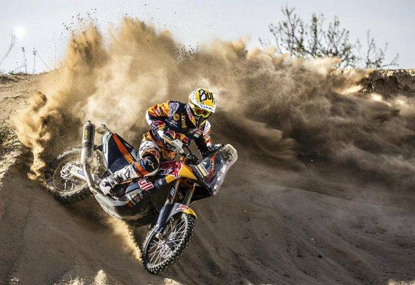Toby Price e cel mai rapid în ziua a doua a Raliului Dakar. Mani Gyenes pe 20.