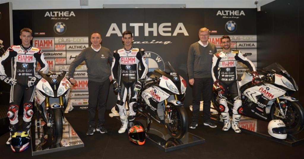 Althea BMW Racing prezintă echipa oficială de Superbike