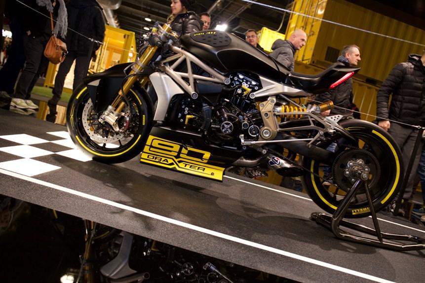 Ducati prezintă conceptul draXter la salonul de la Verona [VIDEO]