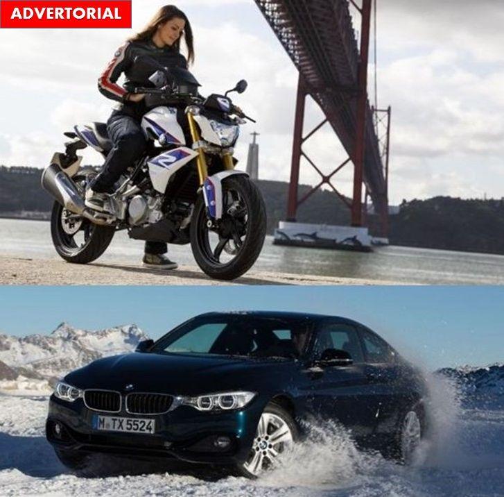 Vara motociclist, iarna șofer de rând