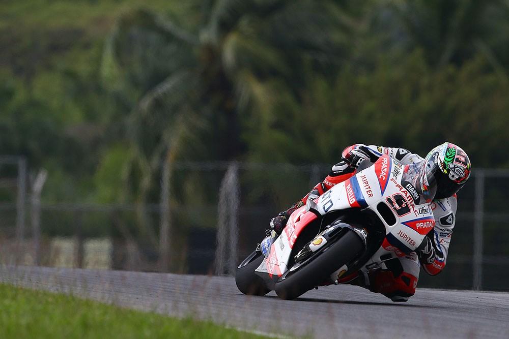 Surpriză în ziua a doua de teste MotoGP: Petrucci a fost cel mai rapid