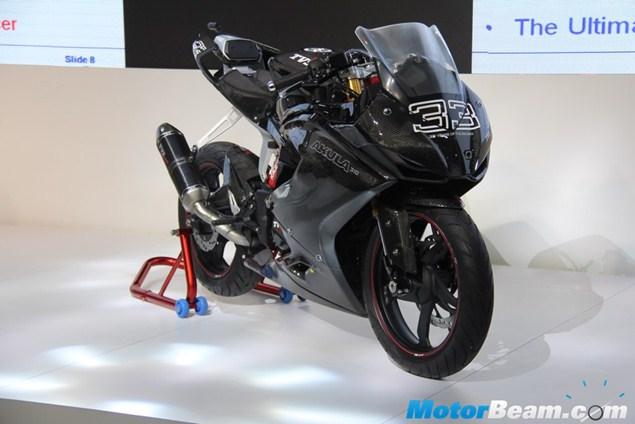 TVS prezintă conceptul Akula 310: așa ar putea arăta viitoarea sportivă BMW de cilindree mică