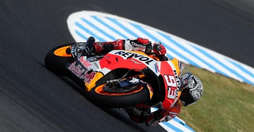 Marquez obține cel mai rapid timp în ultima zi de teste la Phillip Island