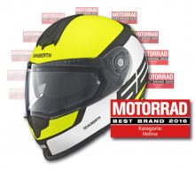 Schuberth, votat de cititorii Motorrad drept cel mai bun producător de căști în 2016