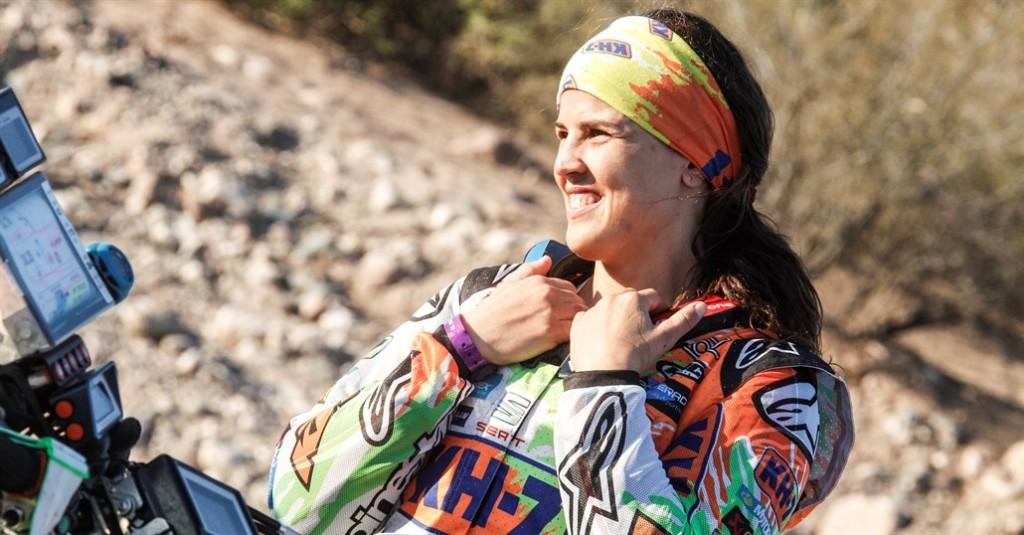 Laia Sanz, regina deșertului