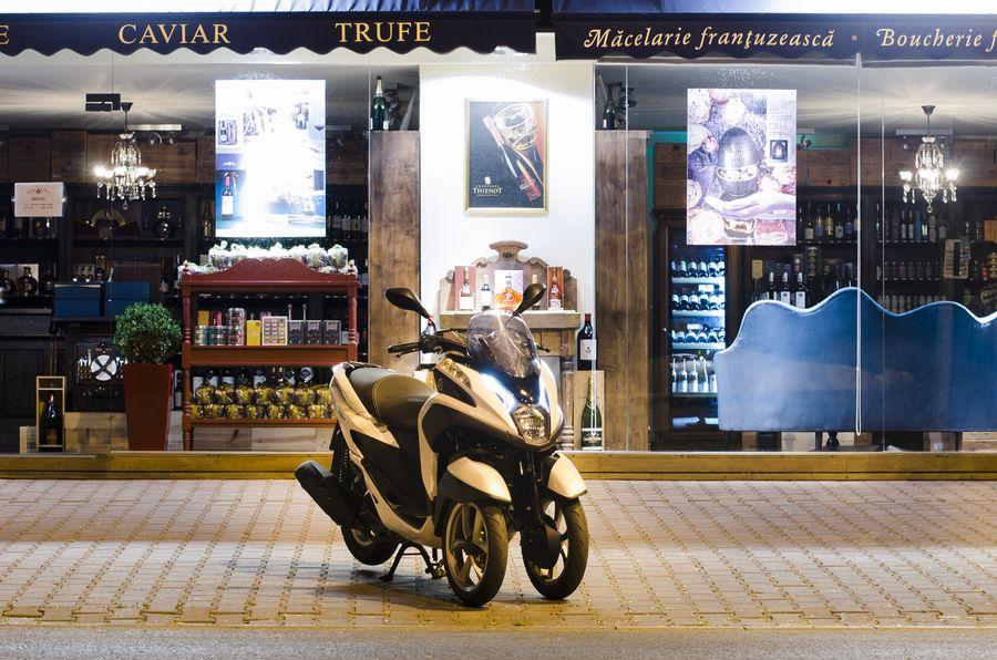 Promoție pentru Yamaha Tricity - accesorii de 400 de euro gratuit