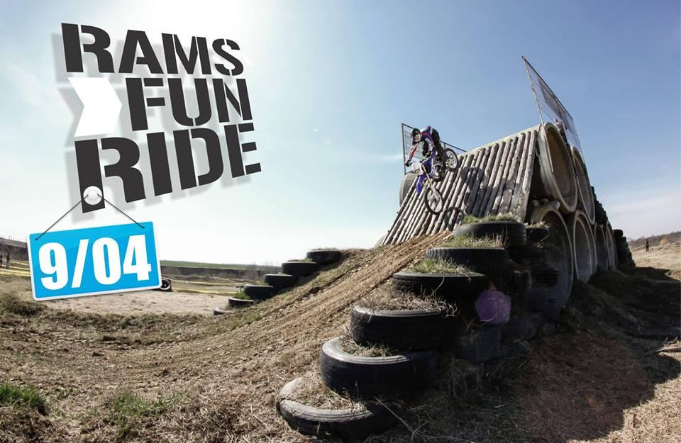 RAMS Fun Ride 2016, pentru motocrosiști și enduriști, la Ciolpani, pe 9 aprilie
