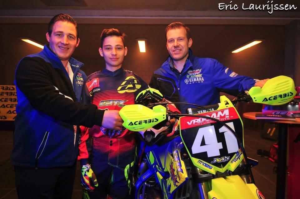 Interviu Robert Krisztian Tompa: la 15 ani, pilot in Belgia, patria motocrosului!