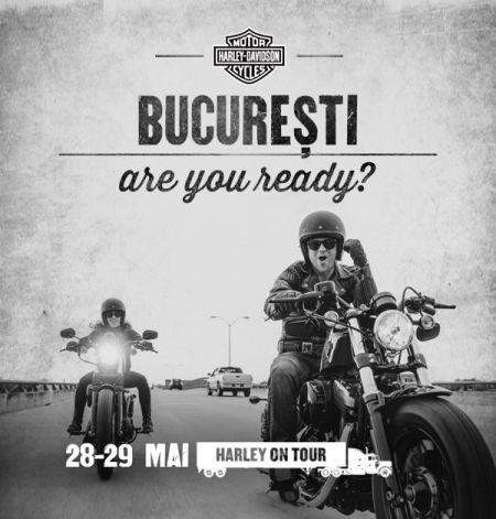 Harley on Tour vine din nou în București