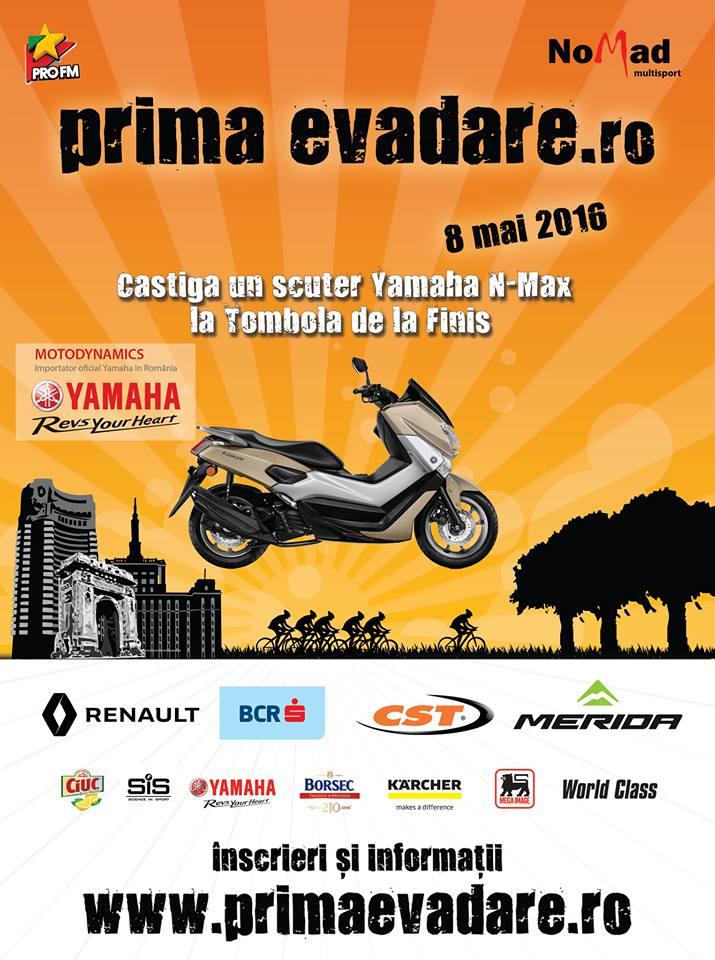 Dani Oțil și Julian Răduță vor deschide traseul la Prima Evadare, pe motociclete Yamaha