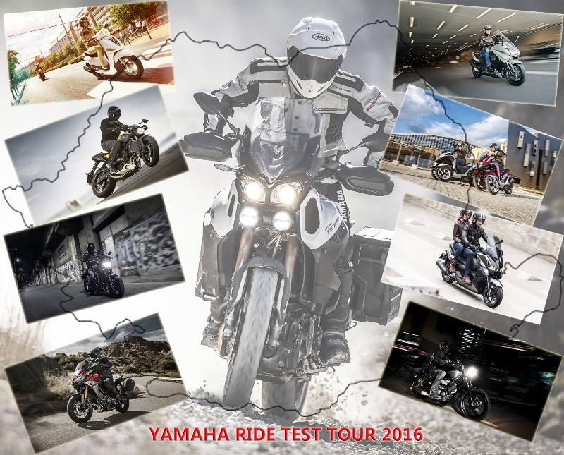 Caravana de test-ride Yamaha a plecat prin țară