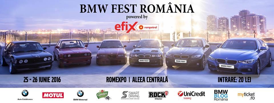 Gama BMW Motorrad este disponibilă pentru ride-test la BMW Fest, în weekend