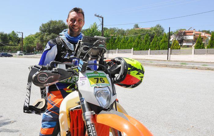 Andrei, despre Serres Rally: De ce trebuie să fie greu?