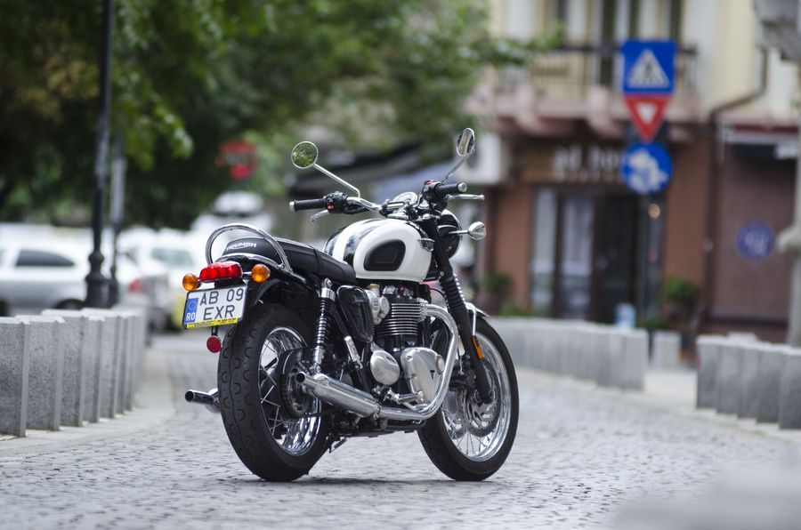 Test Triumph Bonneville T120: Neoclasic