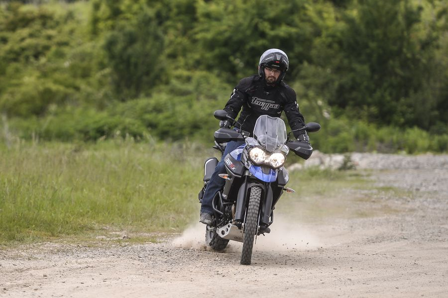 Test Triumph Tiger 800 XcX: Eye of the Tiger