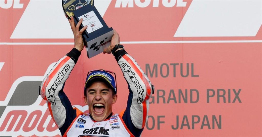 Marc Marquez câștigă cursa de la Motegi și devine campion mondial