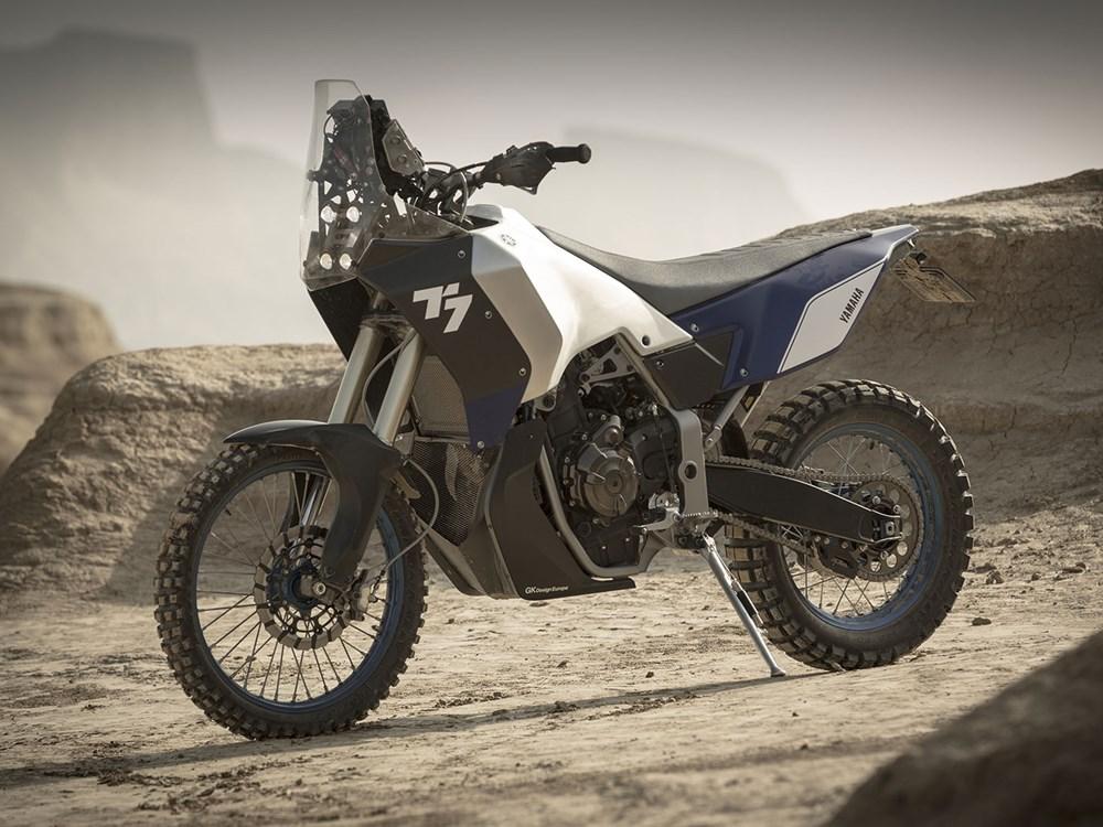 Conceptul adventure-rally Yamaha T7 ne-a lăsat cu gura căscată