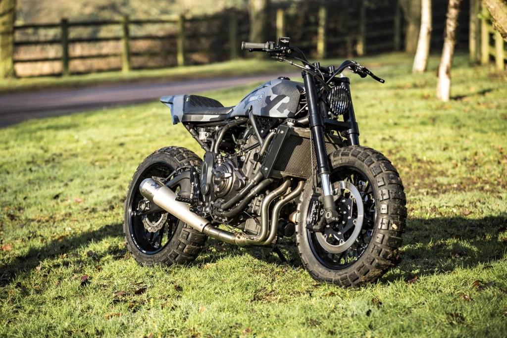 Custom: Yamaha XSR se transformă în