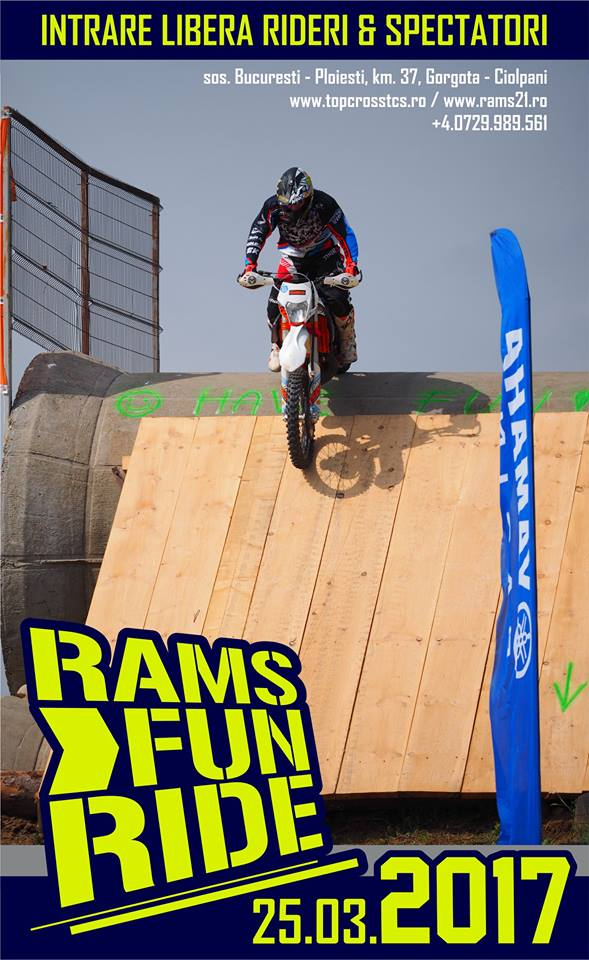 Distracţie off-road de weekend: RAMS FUN RIDE 2017