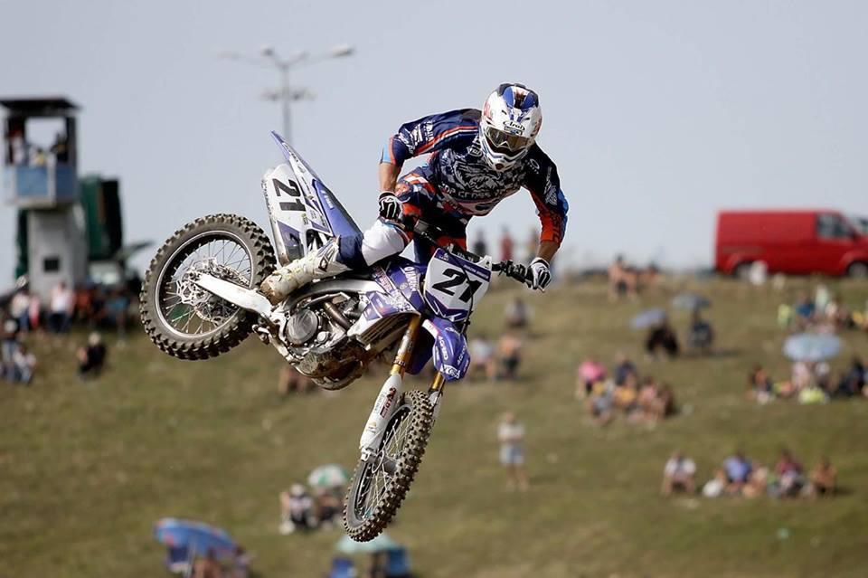 Adrian Răduţă se pregăteşte să îşi apere titlul de campion est-european de motocros