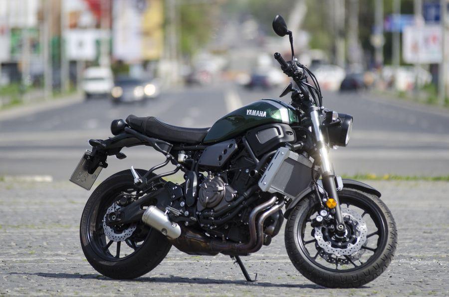 Test Yamaha XSR700: Toate-s vechi și nouă toate
