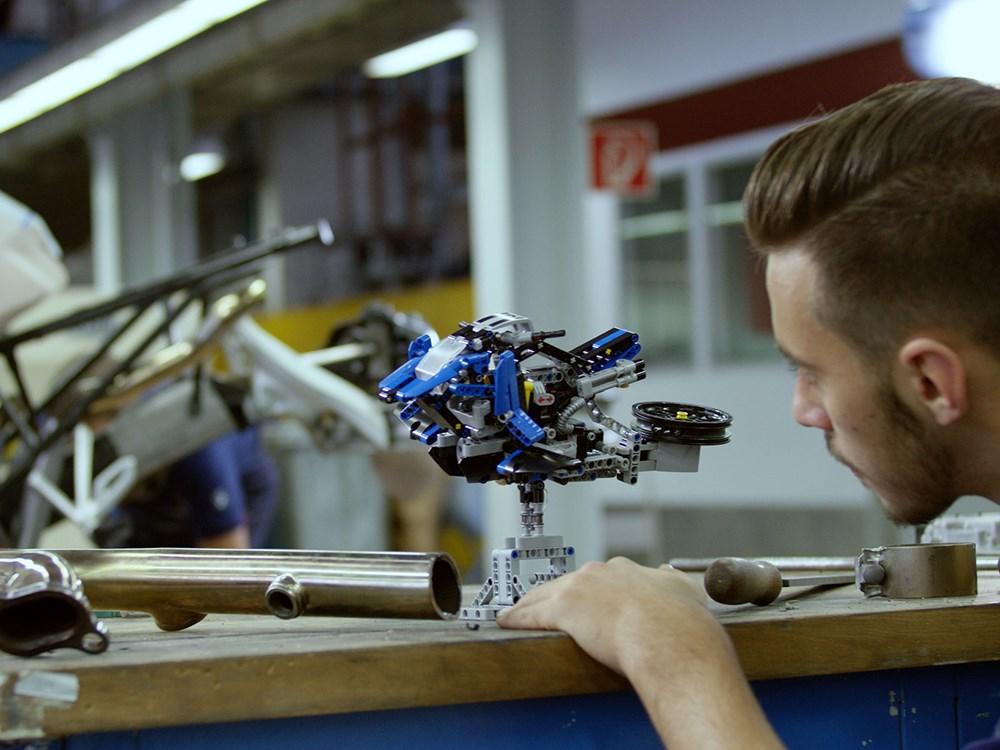 bmw aeroglisor lego