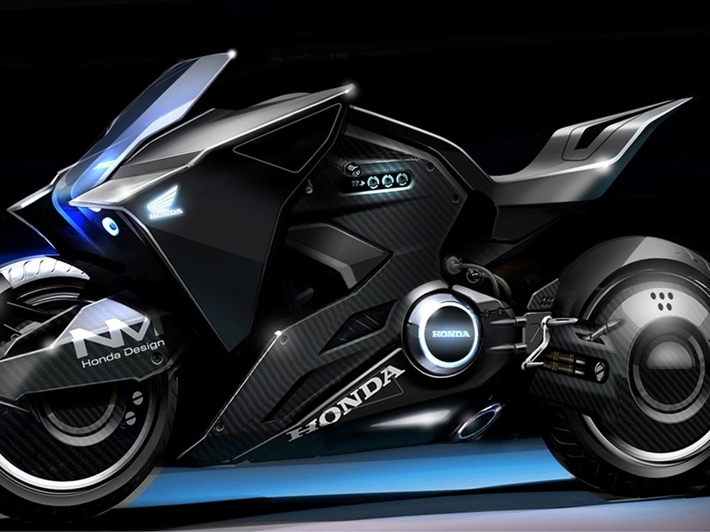 "Honda NM4 Vultus apare sub formă de concept supersport în ""Ghost in the Shell"""