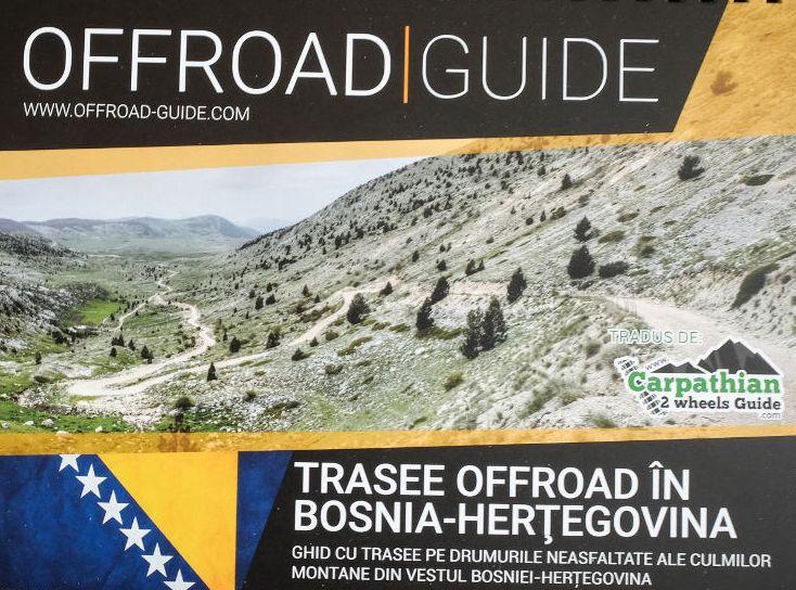 Carpathian 2 Wheels Guide lansează un nou ghid: trasee off-road în Bosnia-Herțegovina