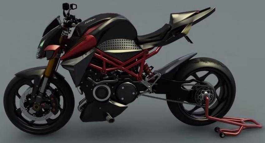 Furion M1, motocicleta cu motor hibrid, performanţe de superbike şi consum de scuter