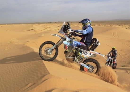 Nicola Dutto, pilotul paraplegic care a încheiat Merzouga Rally!