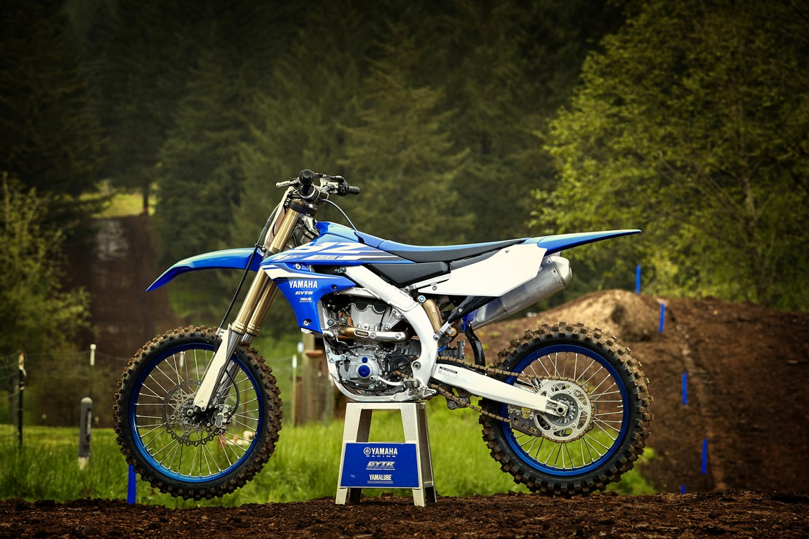 Yamaha YZ450F model 2018, crosser-ul care se