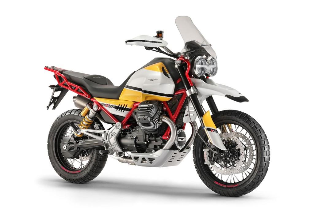 Moto Guzzi V85 concept a fost prezentat la EICMA 2017